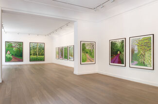 The Arrival of Spring, installation view