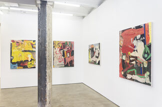 Streaming by Lamp and by Fire, installation view