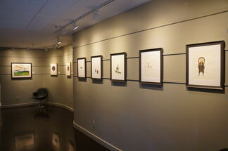 Paper Trail: Contemporaries & Their Influencers, installation view