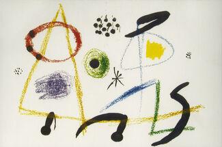 Miró: Original Lithographs, installation view