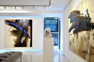 Ghis Thomas, Brenda Franco and Claire Becker, installation view
