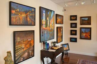 Colorfall Recent Works by Robert Longley, installation view