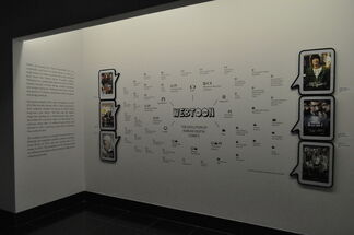 Webtoon: The Evolution of Korean Digital Comics, installation view