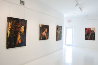 Blossoming beauties, installation view