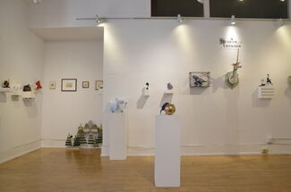 Beasts of the Unknown, installation view