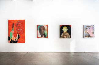 Between Colors and a Hard Place, installation view