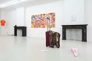 Carry-on by David Horvitz, installation view
