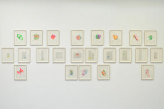 Mur Nomade at Art Central 2015, installation view