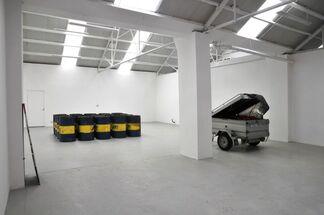 Paralysis, installation view