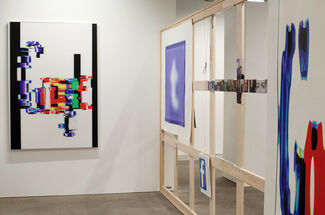 Mark Flood / Paintings From The War For Social Justice, installation view