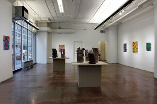 Charles Andresen and Jerry the Marble Faun, installation view