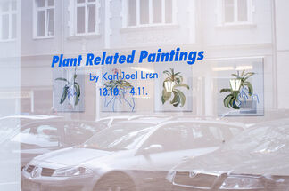 Plant Related Paintings by Karl-Joel Larsson, installation view