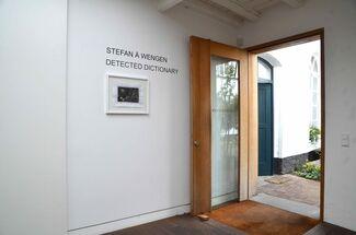 Stefan à Wengen. Detected Dictionary, installation view