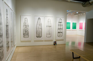 Five Beauties Rising: New Prints by Willie Cole, installation view