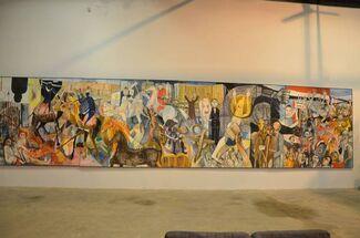 Omar El Nagdi: Fragments of a Luminary, installation view