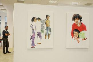 Daniel Brici - solo show The Invisible Children, installation view