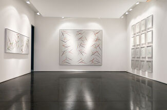 """""""The Line"""" - Group Show, installation view"""