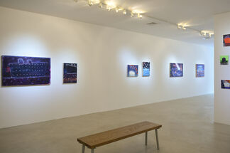 "Katherine Bradford ""Life Boats"", installation view"