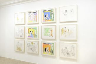 Pat ANDREA, installation view