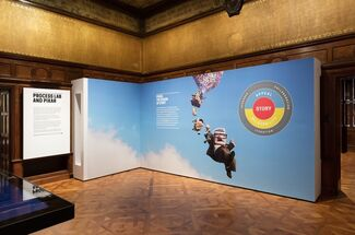 Pixar: The Design of Story, installation view
