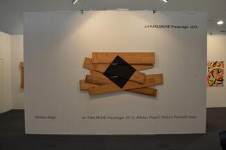 Galerie Reinhold Maas at art KARLSRUHE 2015, installation view