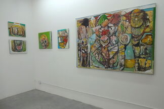 Eric Banks: The Executioner's Face, installation view