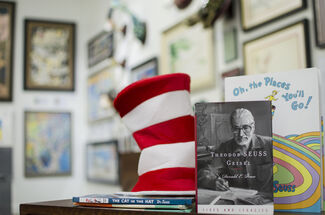 """""""The Art of Dr. Seuss"""" Rare Editions Event, installation view"""