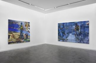 Duncan Wylie - Slashers, installation view