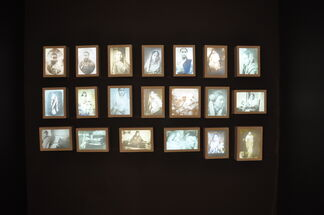 Delineating Memories :  An Artistic  exploration of the Mundane, installation view