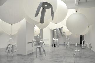 "Oskar Zieta ""Zieta BazAir"", installation view"