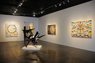 James Verbicky: Mode Selector, installation view