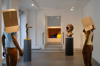 Uncover, installation view