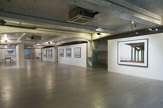 Curves of Moon and Rivers of Blue | Nadav Kander, installation view