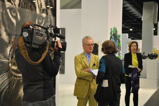 Galerie Hans Mayer at Art Cologne 2015, installation view