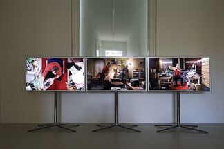 The Complete Trilogy of Failure by Julian Rosefeldt, installation view