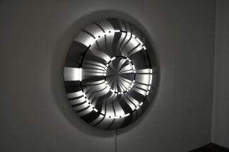 Transmissions: Brigitte Kowanz / Mariano Sardón, installation view