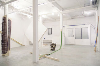 Charlie Smith: Making/Unmaking, installation view