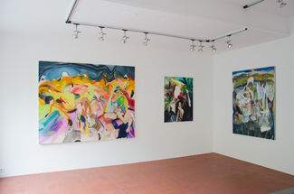 """""""whole is a hand that shakes"""" Winston Chmielinski, installation view"""