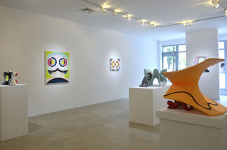 New work by Clint Jukkala, installation view