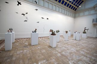 Jake & Dinos Chapman - Ruminations on Cosmic Insignificance, installation view