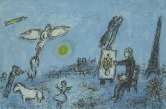 Marc Chagall, installation view