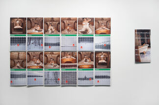Jordan Rathus: FERNWEH (FARSICKNESS), installation view