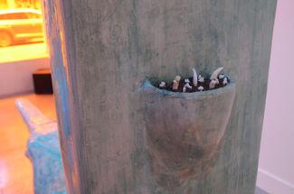 Catalina Ouyang, fish mystery in the shift horizon, installation view