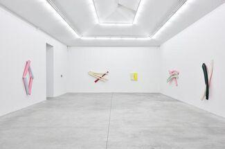 Justin Adian 'Waltz', installation view