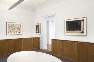 David Hockney : Ma Normandie, installation view