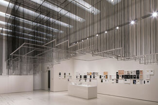 But a Storm Is Blowing from Paradise: Contemporary Art of the Middle East and North Africa, installation view