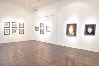 Victor Castillo: Born in '73   Tara McPherson: The Difference Between Here and There, installation view