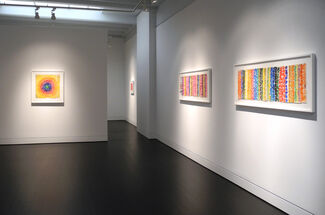 Alma Thomas: Thirteen Studies for Paintings, installation view