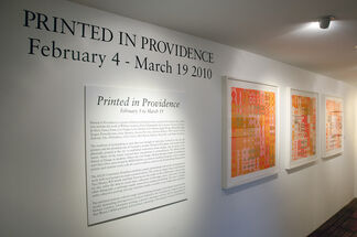 Printed in Providence, installation view