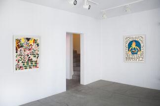 Gigantomachy - Matthew Palladino Residency Show, installation view